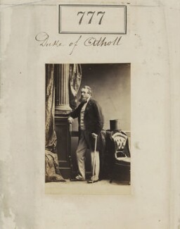 George Augustus Frederick John Murray, 6th Duke of Atholl, by Camille Silvy, 1860 - NPG Ax50389 - © National Portrait Gallery, London
