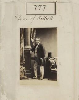 George Augustus Frederick John Murray, 6th Duke of Atholl, by Camille Silvy, 1860 - NPG Ax50389 - © National Portrait Gallery, London
