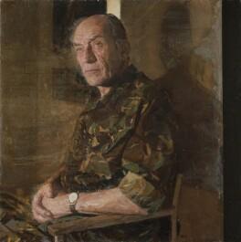 Mike Jackson, by Brendan Kelly, 2009 - NPG 6885 - © National Portrait Gallery, London
