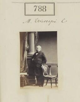 Spiridon Trikoupis (Tricoupis), by Camille Silvy - NPG Ax50397