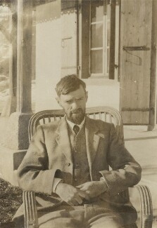 D.H. Lawrence, possibly by Lady Ottoline Morrell, 1928 - NPG x140424 - © National Portrait Gallery, London