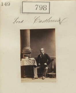Valentine Augustus Browne, 4th Earl of Kenmare, by Camille Silvy, 1860 - NPG Ax50406 - © National Portrait Gallery, London