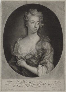 Elizabeth Southwell (née Cromwell), Lady Cromwell, by and published by John Smith, after  Sir Godfrey Kneller, Bt, 1699 - NPG D31332 - © National Portrait Gallery, London