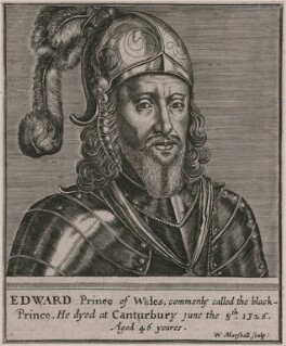 Edward, Prince of Wales, by William Marshall - NPG D33213