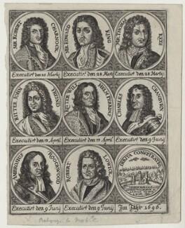 Jacobite Conspirators, after Unknown artist, circa 1696 - NPG D31357 - © National Portrait Gallery, London