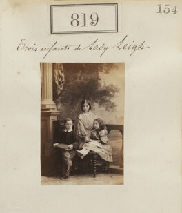 The children of the 2nd Baron Leigh, by Camille Silvy - NPG Ax50425