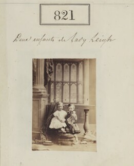 Hon. Rupert Leigh; Francis Dudley Leigh, 3rd Baron Leigh, by Camille Silvy - NPG Ax50427