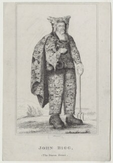 John Bigg, by R. Grave, after  Unknown artist - NPG D31358