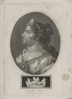 Queen Anne, by John Chapman, after  Unknown artist - NPG D31364