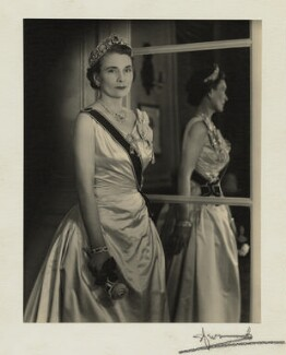 Princess Alice, Duchess of Gloucester, by Madame Yevonde, March 1959 - NPG x24424 - © Yevonde Portrait Archive