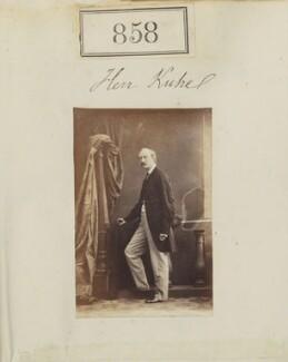 Wilhelm Kuhe, by Camille Silvy - NPG Ax50459