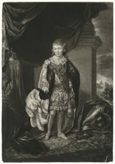 Frederick, Duke of York and Albany, by Joseph Saunders, published by  Walter Shropshire, after  Richard Brompton - NPG D33214