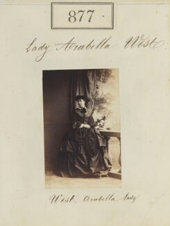 Lady Arabella Diana Bannerman (née Sackville-West), by Camille Silvy - NPG Ax50470