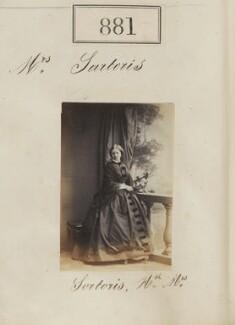 Hon. Mary Frances Sartoris (née Barrington), by Camille Silvy - NPG Ax50473