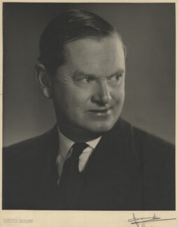 Evelyn Waugh, by Madame Yevonde - NPG x13965