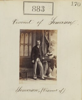 James Charles Herbert Welbore Ellis Agar, 3rd Earl of Normanton, by Camille Silvy - NPG Ax50475