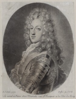 Prince James Francis Edward Stuart, by Claude Duflos, after  Alexis Simon Belle - NPG D31379