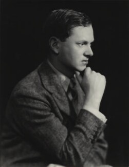 Evelyn Waugh, by Madame Yevonde - NPG x29849