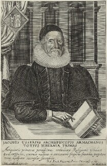James Ussher, by William Marshall, published by  John Stafford - NPG D33192