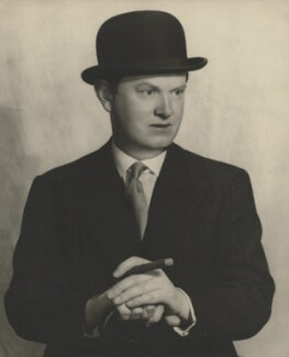 Evelyn Waugh, by Madame Yevonde - NPG x13964