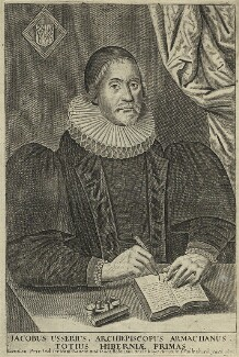 James Ussher, published by Nathaniel Ranew, and published by  Jonathan Robinson, after  William Marshall - NPG D33195