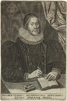 James Ussher, published by Nathaniel Ranew, and published by  Jonathan Robinson, after  William Marshall - NPG D33196