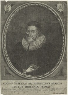 James Ussher, published by Peter Stent, after  Unknown artist - NPG D33198