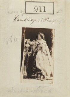 Princess Mary Adelaide, Duchess of Teck, by Camille Silvy - NPG Ax50493