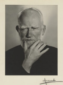 George Bernard Shaw, by Madame Yevonde - NPG x24425