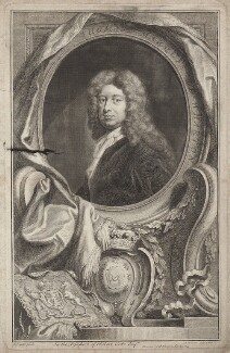 Thomas Wharton, 1st Marquess of Wharton, by Jacobus Houbraken, published by  John & Paul Knapton, after  Sir Godfrey Kneller, Bt - NPG D31403