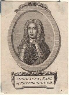 Charles Mordaunt, 3rd Earl of Peterborough, after Sir Godfrey Kneller, Bt - NPG D31407
