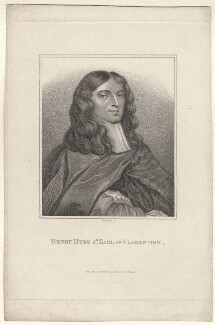Henry Hyde, 2nd Earl of Clarendon, by E. Bocquet, published by  John Scott, after  Sir Peter Lely - NPG D31411