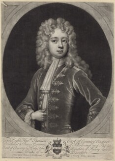 Thomas Coventry, 3rd Earl of Coventry, by John Simon, after  Sir Godfrey Kneller, Bt - NPG D31413
