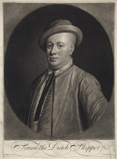 Thomas Hamilton, 6th Earl of Haddington ('Simon the Dutch Skipper'), by John Smith, after  William Aikman - NPG D31414