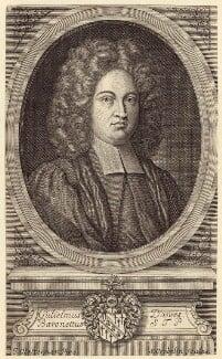 Sir William Dawes, 3rd Bt, by Simon Gribelin, after  John Closterman - NPG D31420