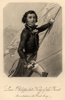 Louis-Philippe I, King of the French, by Samuel Freeman, after  Denis Auguste Marie Raffet - NPG D9280