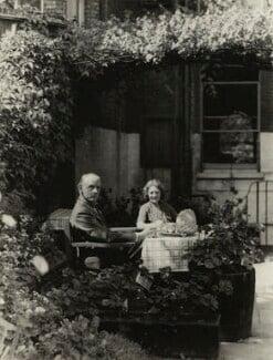 Charles Langbridge Morgan; Hilda Morgan (née Vaughan), by Madame Yevonde - NPG x26398
