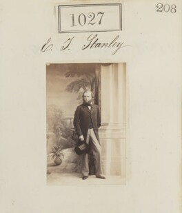 Edward James Stanley, by Camille Silvy - NPG Ax50552