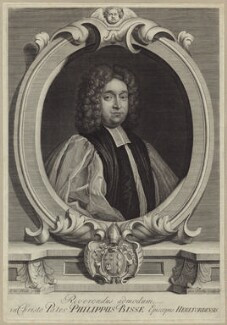 Philip Bisse, by George Vertue, after  Thomas Hill - NPG D31451
