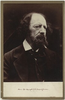 Alfred, Lord Tennyson, by Julia Margaret Cameron - NPG x18054