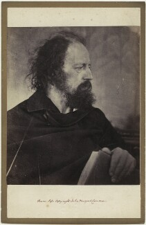 Alfred, Lord Tennyson, by Julia Margaret Cameron - NPG x18053