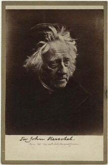Sir John Frederick William Herschel, 1st Bt, by Julia Margaret Cameron - NPG x18040