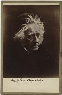 Sir John Frederick William Herschel, 1st Bt, by Julia Margaret Cameron, April 1867 - NPG x18040 - © National Portrait Gallery, London