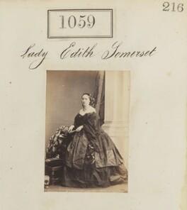 Edith Frances Wilhelmina (née Somerset), Countess of Londesborough, by Camille Silvy - NPG Ax50571