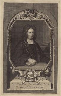 Humphrey Prideaux, by George Vertue, after  Enoch Seeman - NPG D31464