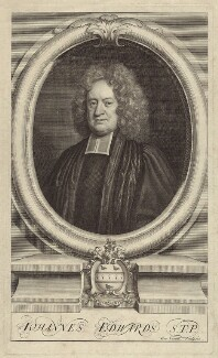 John Edwards, by George Vertue, after  Unknown artist, published 1713 - NPG D31473 - © National Portrait Gallery, London