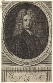 Henry Sacheverell, after Anthony Russel - NPG D31475
