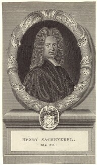 Henry Sacheverell, after Anthony Russel - NPG D31479