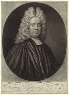 Henry Sacheverell, by John Smith, after  Anthony Russel - NPG D31485