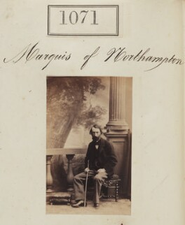Charles Compton, 3rd Marquess of Northampton, by Camille Silvy - NPG Ax50580